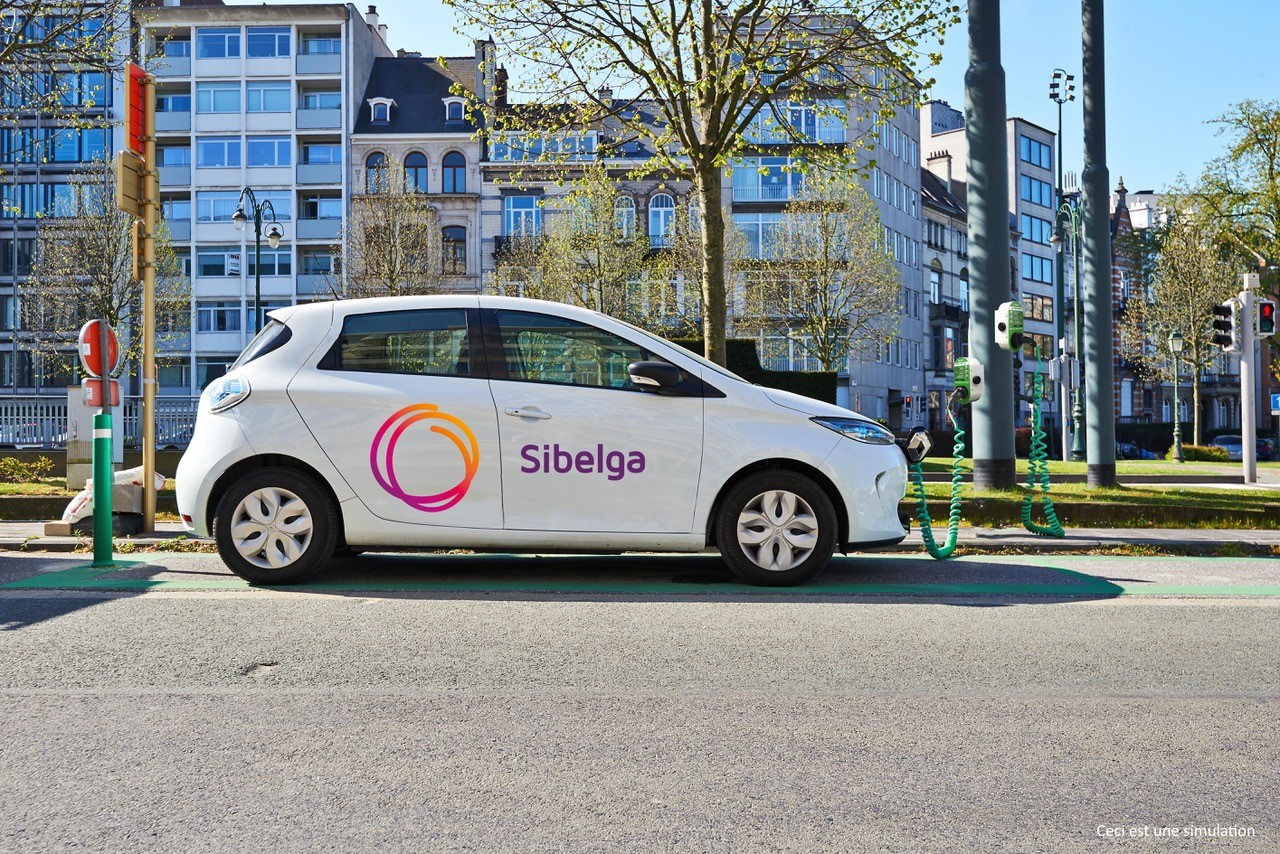 Will there soon be charging stations on lamp posts in Brussels?