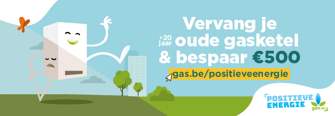 Gas.be  premie vervaning gasketel