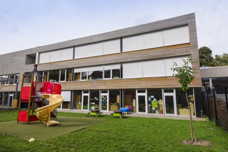 The first passive school in Belgium uses NRClick