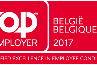 Sibelga ook in 2017 weer Top Employer !